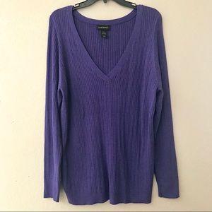 Lane Bryant v-neck sweater